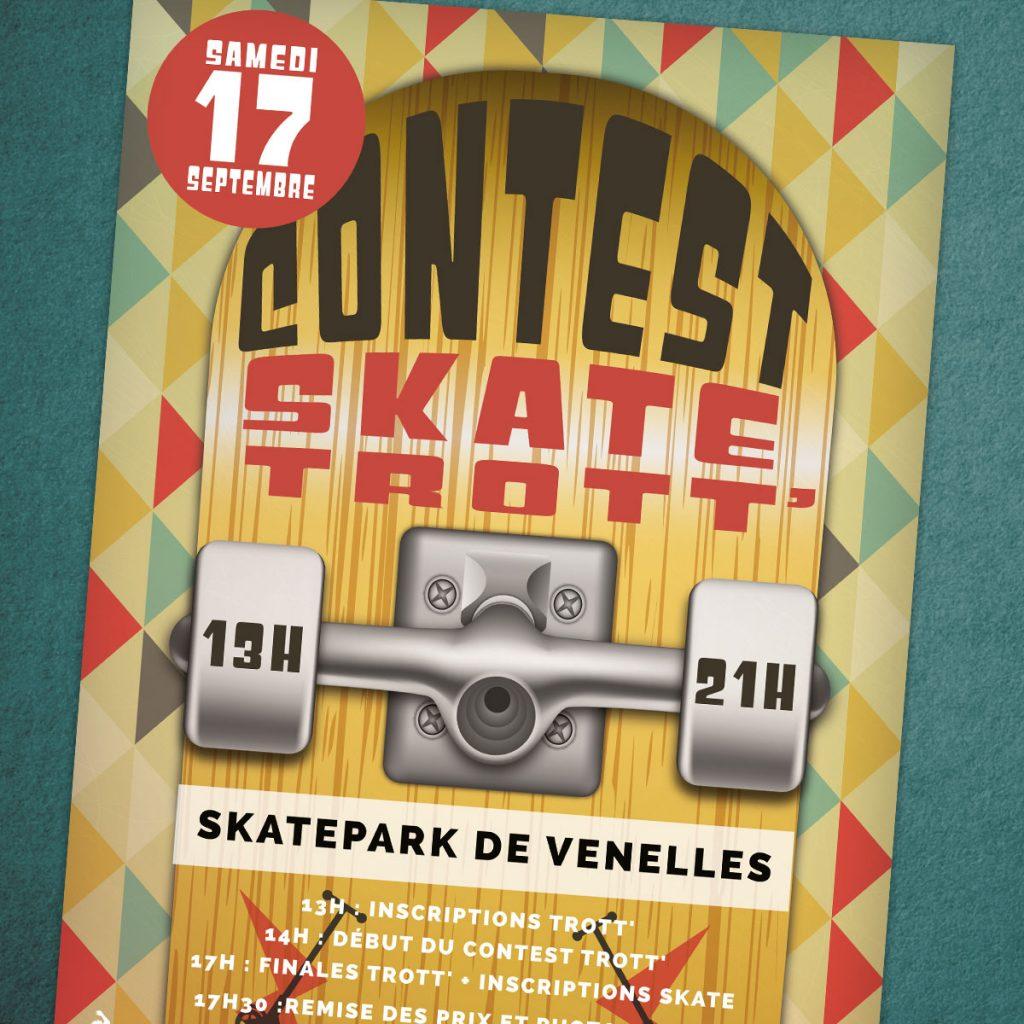 Affiche Skateboard