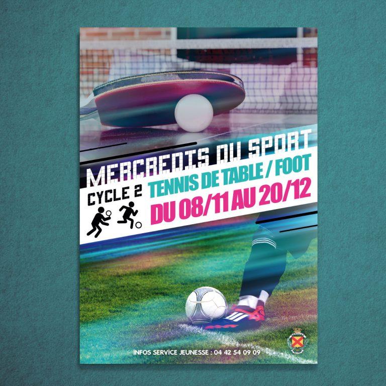 Affiche Les Mercredis du Sport