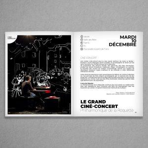 Intérieur brochure culturelle Venelles
