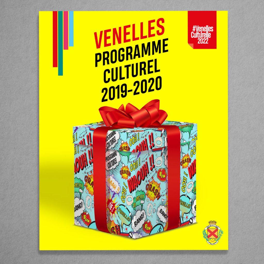 Couverture plaquette culturelle Venelles 2019