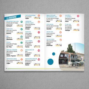 Intérieur annuaire des commerçants 2020