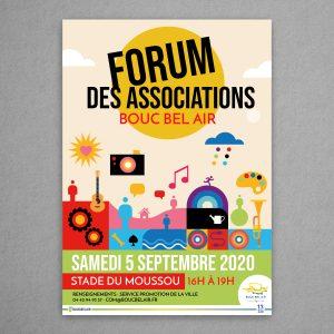 Affiche Forum des associations 2020